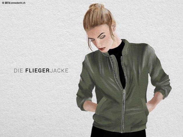 Fliegerjacke