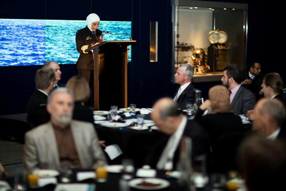 The Chief of Navy's Islamic solidarity