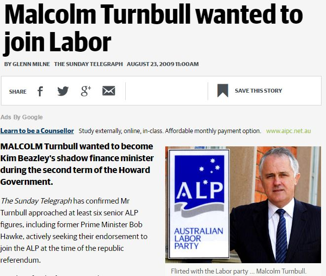 Labor Turnbull