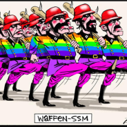 Defence unleashes the rainbow jihad