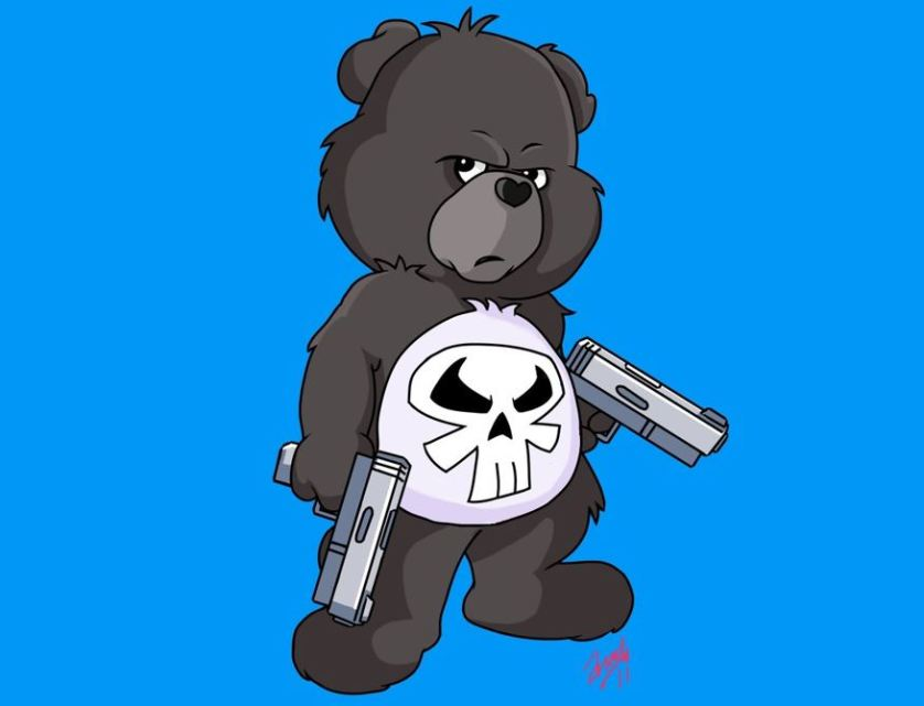 Punisher Care Bear