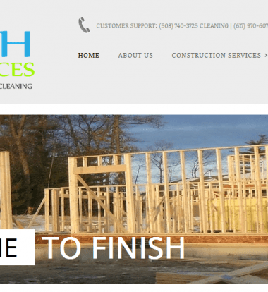 webdesign construction and cleaning