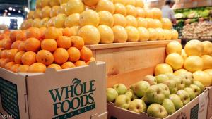 CHICAGO - MAY 04:  Fresh fruit is displayed at a Whole Foods store on May 4, 2006 in Chicago, Illinois. Texas-based natural and organic foods retailer Whole Foods Market Inc. stock shot up 13 percent today after it announced second-quarter profit grew 27 percent after a 21 percent increase in sales. (Photo by Scott Olson/Getty Images)