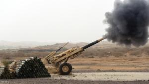 A Saudi army artillery cannon fires shells towards Yemen from a post close to the Saudi-Yemeni border, in southwestern Saudi Arabia, on April 13, 2015 . Saudi Arabia is leading a coalition of several Arab countries which since March 26 has carried out air strikes against the Shiite Huthis rebels, who overran the capital Sanaa in September and have expanded to other parts of Yemen. AFP PHOTO / FAYEZ NURELDINE        (Photo credit should read FAYEZ NURELDINE/AFP/Getty Images)