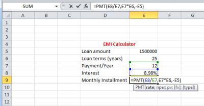 GmailInside: how to calculate emi formula how to calculate emi for home loan how to calculate ...