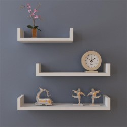Small Of Hanging Shelves Wall