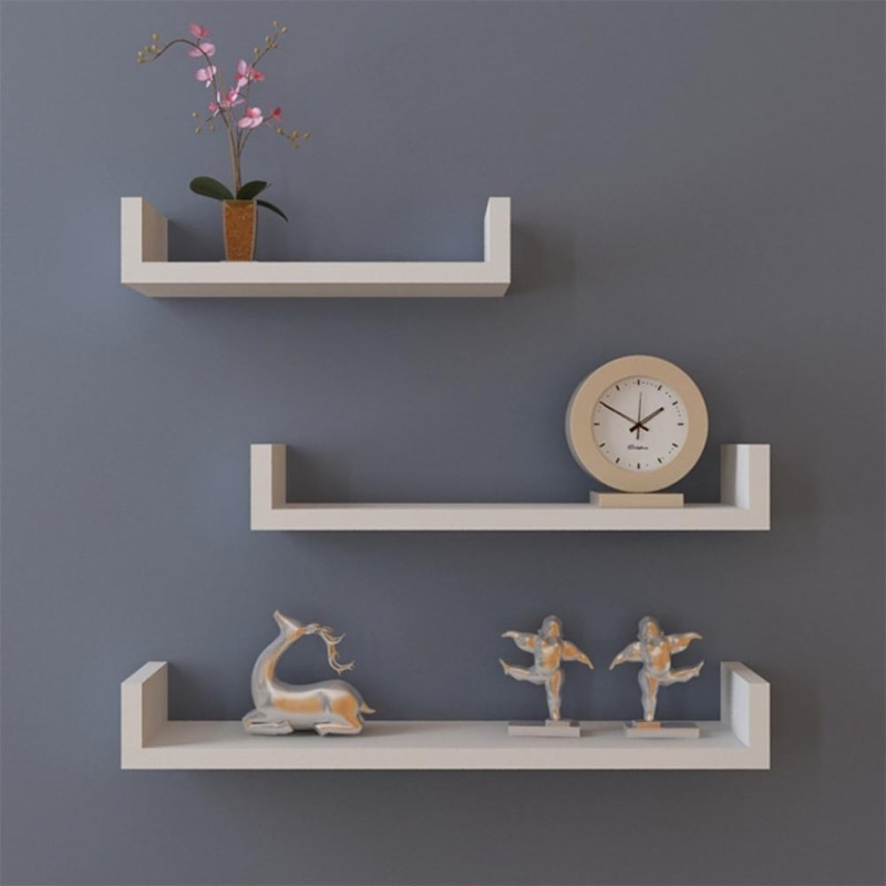 Large Of Hanging Shelves Wall