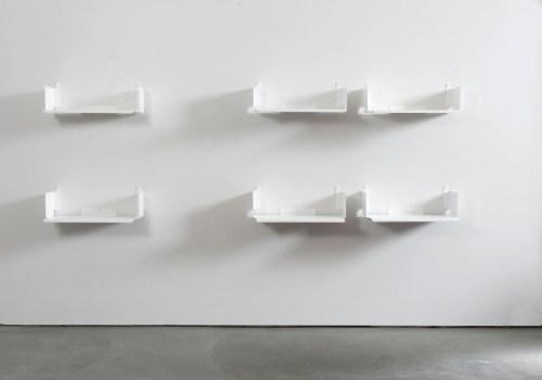 Medium Of White Wall Shelves For Bathroom