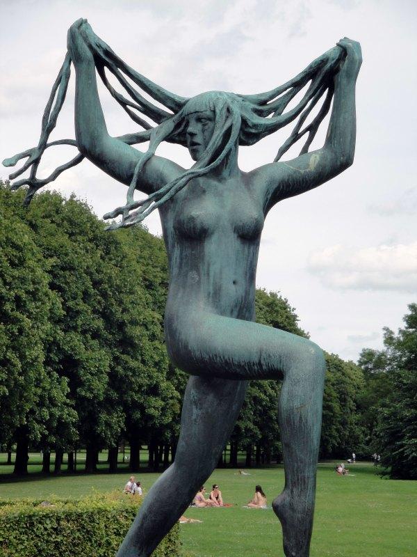 Skulptur im Vigelandsparken, Oslo