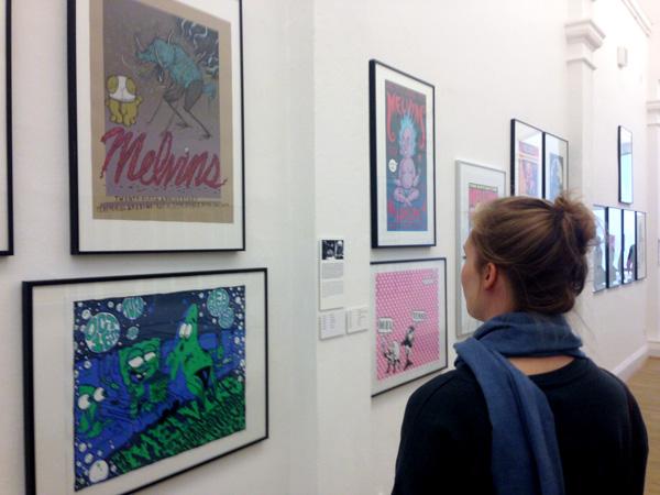 Museum für Kunst und Gewerbe: Poster-Rock Ausstellung auf dem Reeperbahn Festival 2015, Foto: Isabel Herwig