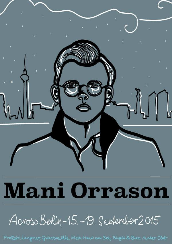 Mani Orrason Across Berlin