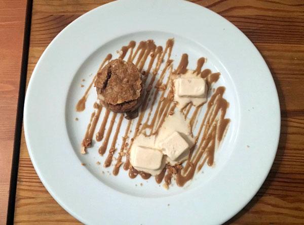 Dessert Apfelcobbler vom Privatkoch von La Belle Assiette
