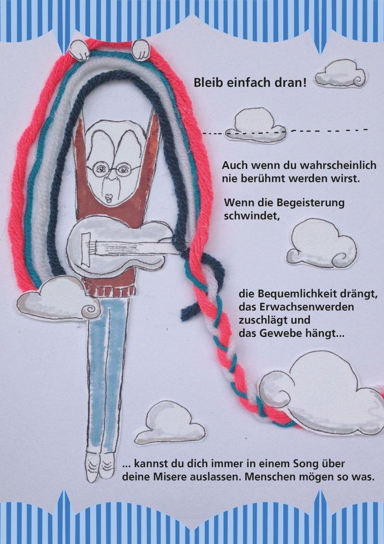 Du willst also Musiker werden 19 hängen am Regenbogen Illustration