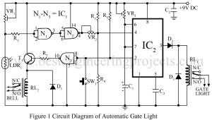 circuit diagram of automatic gate light