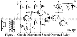 sound operated relay