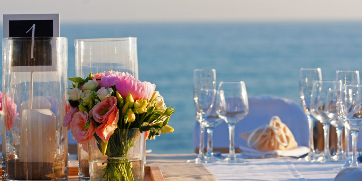Dinner On The Beach, Aphrodite Hills Resort, Cyprus, Prestigious Venues