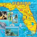 Florida Beach Front Map