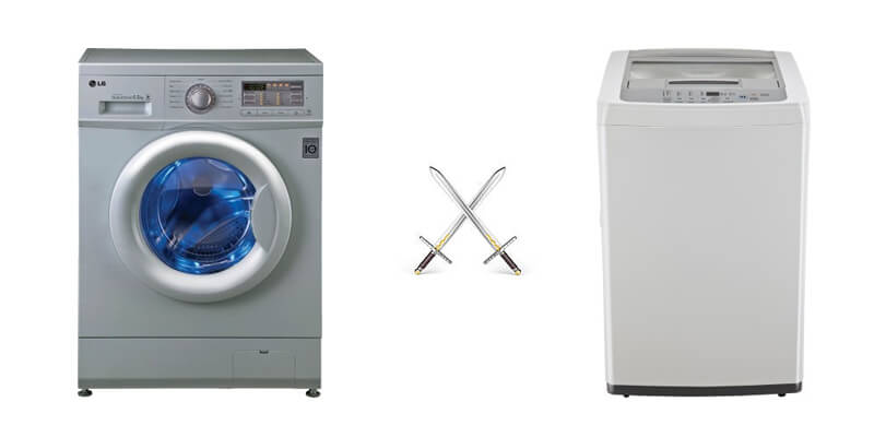 Fine Top Loading Washing Machines Front Load Vs Throughout Design Decorating