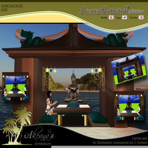 _AA_ Oriental Buddah Meditation w_Meditation Animations