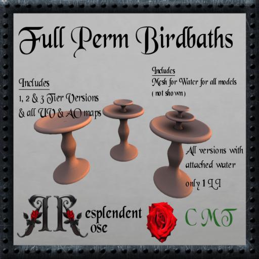 Fullperm BirdBath A 3 pack