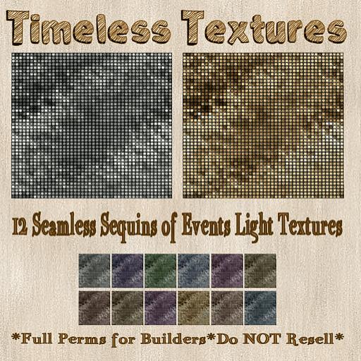 TT 12 Seamless Sequins of Events Light Timeless Textures