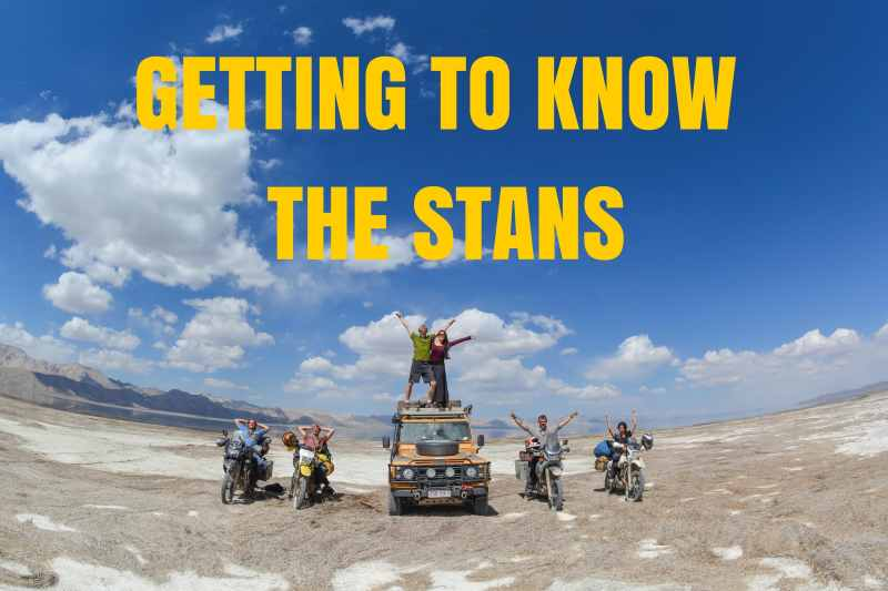 GETTING TO KNOW THE STANS