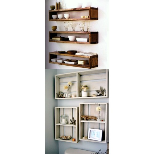 Medium Crop Of Hanging Shelves Ideas