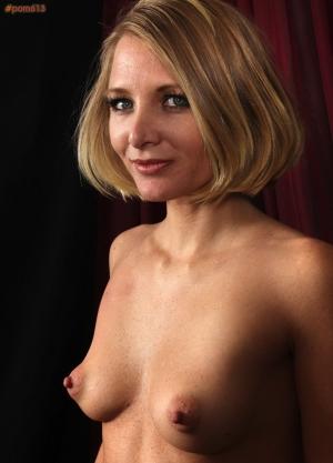 small pointy tits bikini
