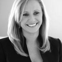 Smiling Blonde Professional Business Woman Portrait Headshot by Brett Photography