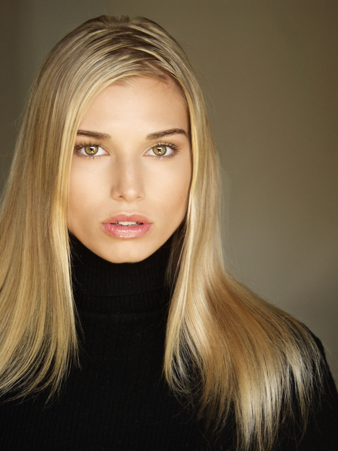 Professional Portrait of Blonde Model Maya by Brett Photography