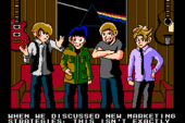Indie Rock Band Rocketboat Publishes Its Own Retro-Modern 2.5D Indie…