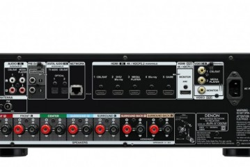 Denon AVR-X1300W Audio
