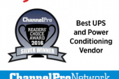 CyberPower Earns Silver in a ChannelPro-SMB 2016 Readers' Choice…