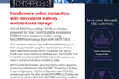 NVDIMM Technology Enabled More Online Transactions with a Dell EMC…