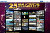 "EarthCam Announces Its ""25 Most Interesting Webcams of 2017"""