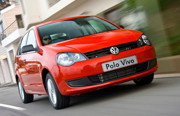 VW Polo Vivo South Africa August 2014