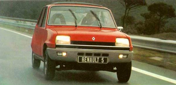 Renault 5 Europe 1979