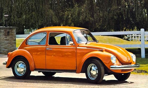 VW Beetle Europe 1972