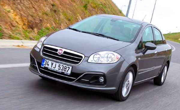 Fiat Linea Turkey June 2015