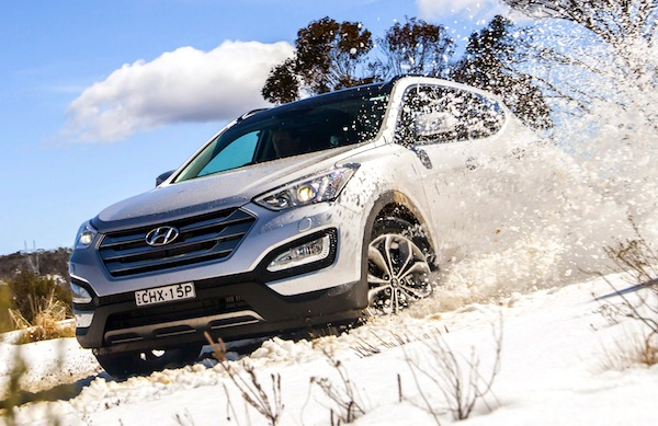 Hyundai Santa Fe Gulf January 2014