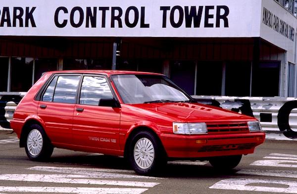 Toyota Corolla New Zealand 1986