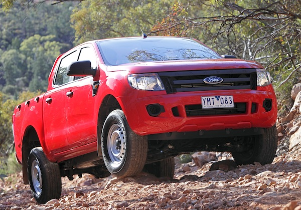 Ford Ranger Uganda 2015