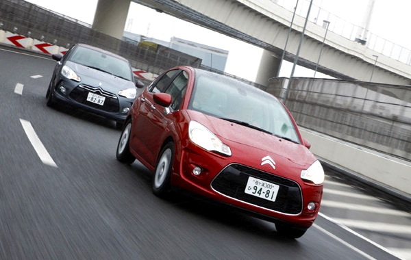 Citroen DS3 C3 Japan 2012
