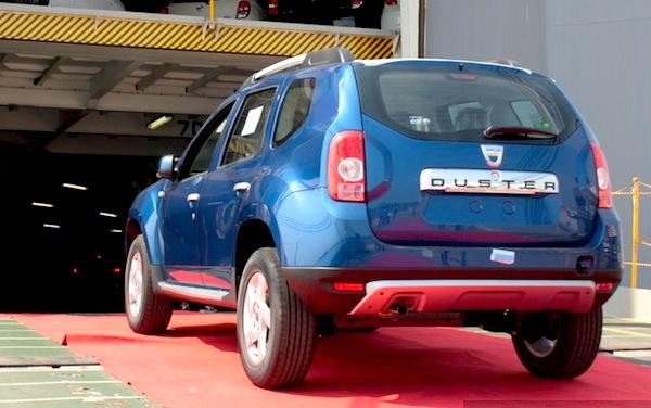 Dacia Duster UK January 2013