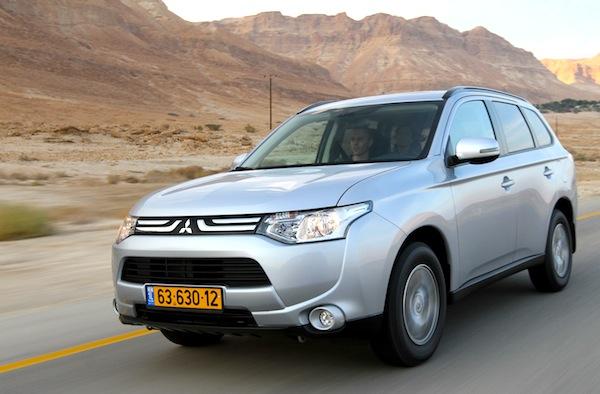 Mitsubishi Outlander Israel 2013