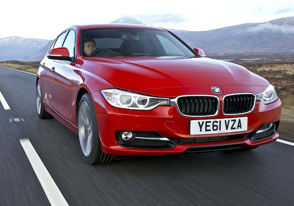 BMW 3 Series Luxembourg 2012