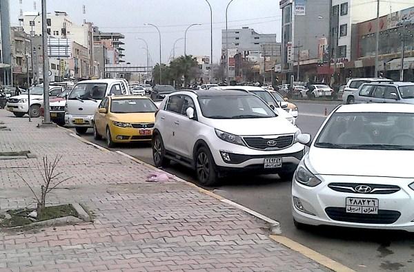 Erbil Iraq street March 2013b