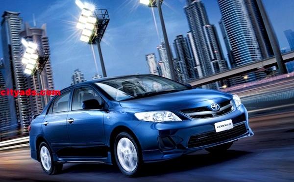 Toyota Corolla Saudi Arabia July 2013