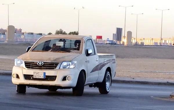 Toyota Hilux Iraq 2012