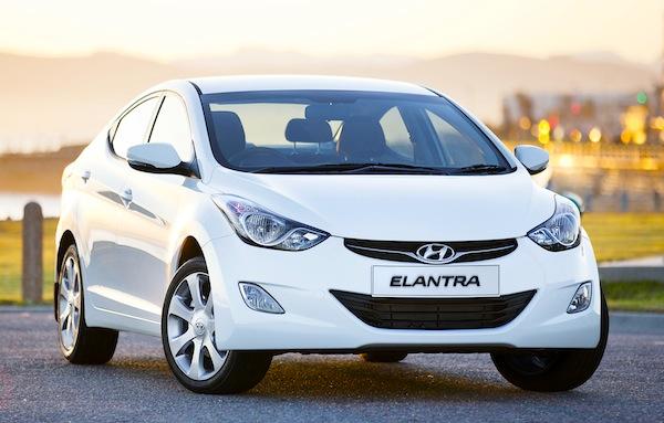 Hyundai Elantra Gulf January 2013